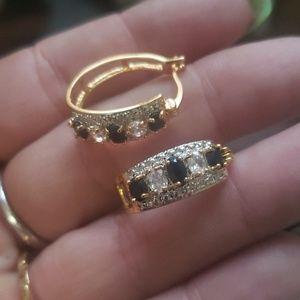 Beautiful sparkling earrings!
